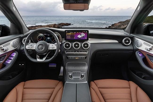 Теперь с ним можно поговорить!. Mercedes GLC-Class (X253)