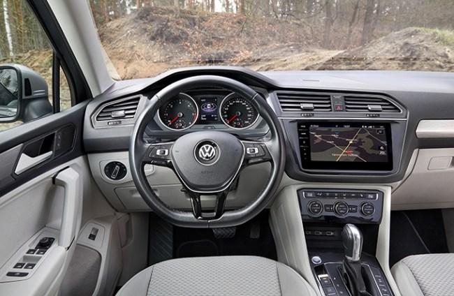 Дорогие лошади. Volkswagen Tiguan