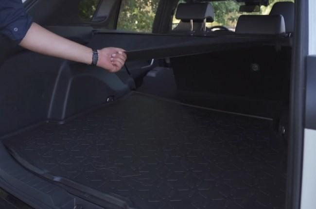 Toyota RAV4 Hybrid багажник