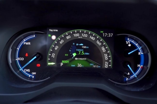 Toyota RAV4 Hybrid расход топлива