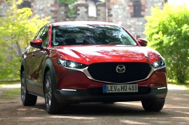 Mazda CX-30 вид спереди