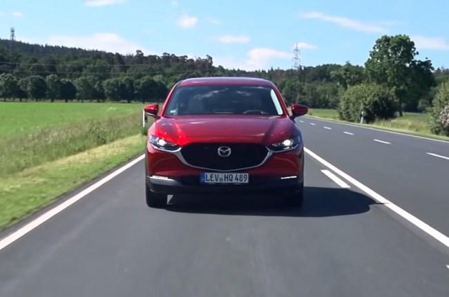 Mazda CX-30 LED фары