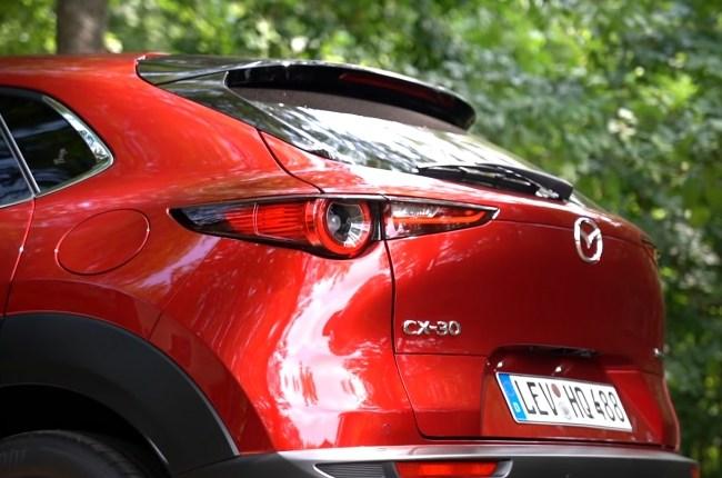 Mazda CX-30 стопы