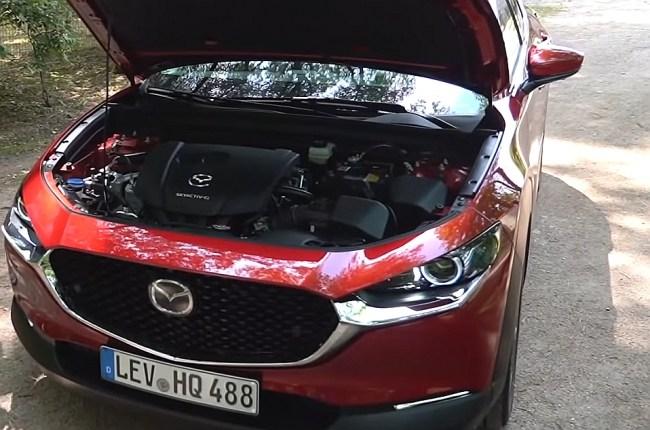 Mazda CX-30 двигатель