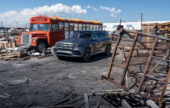 Матрица сломалась. Mercedes GLS-Class (X167)
