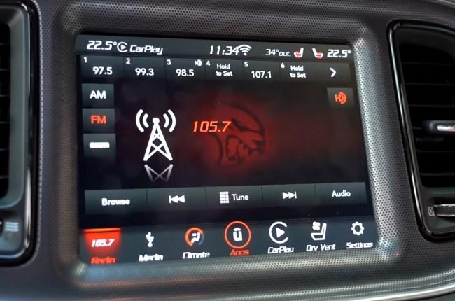Dodge Challenger мультимедия