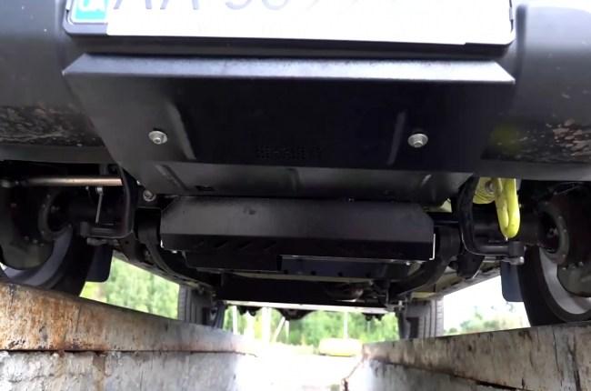 Suzuki Jimny защита днища