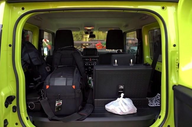 Suzuki Jimny багажник