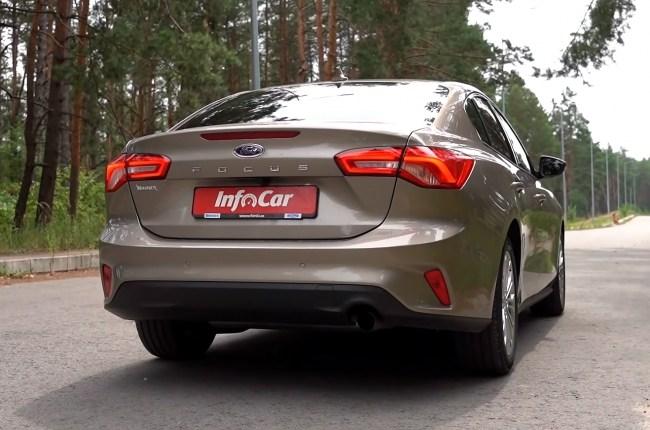 Ford Focus вид сзади