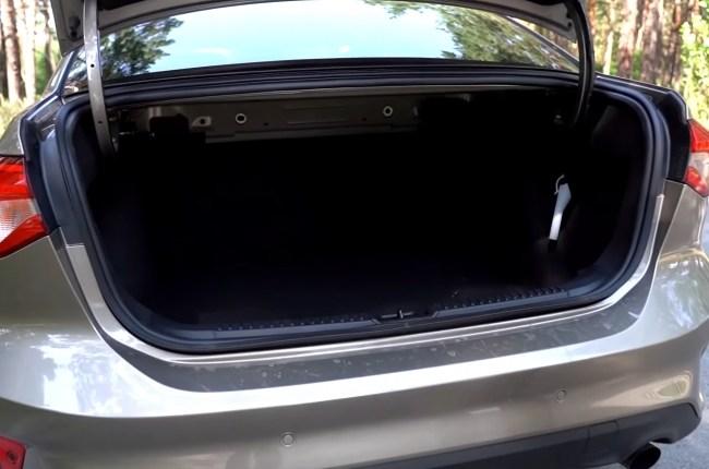Ford Focus багажник