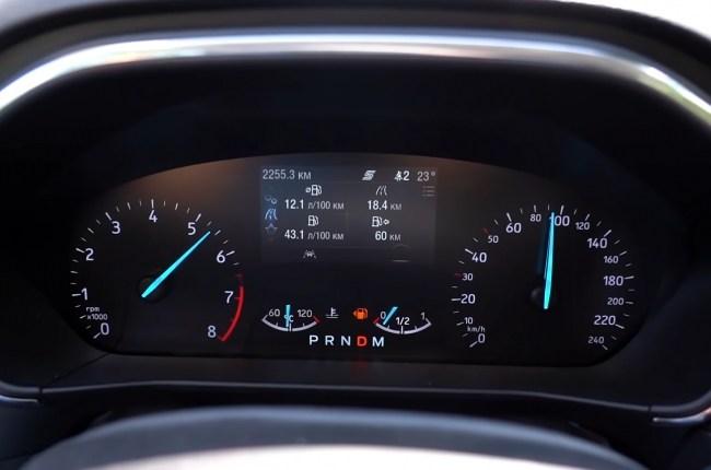 Ford Focus разгон до 100