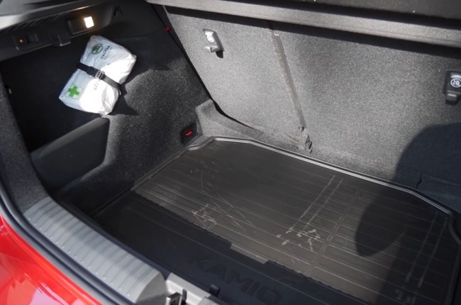 Skoda Kamiq багажник
