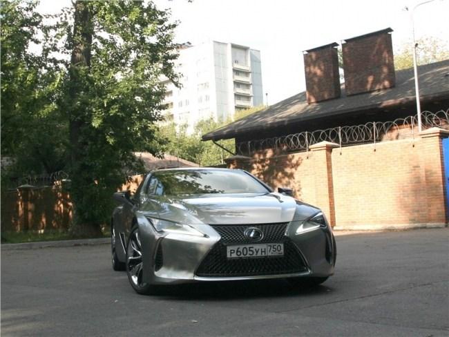 Дьявольский дуализм. Lexus LC 500