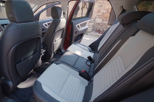Land Rover Discovery Sport второй ряд сидений