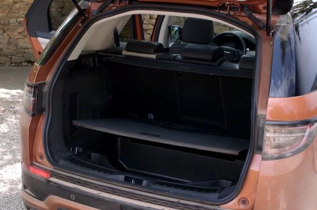 Land Rover Discovery Sport багажник
