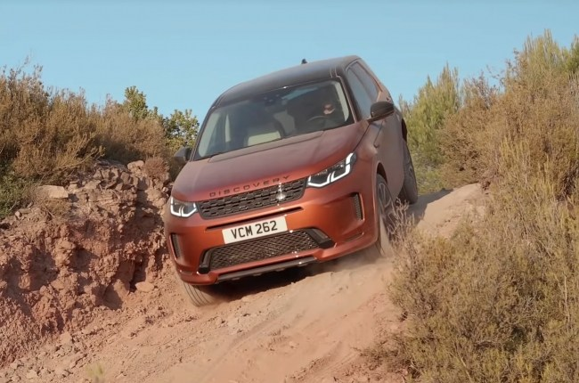 Land Rover Discovery Sport оффроуд