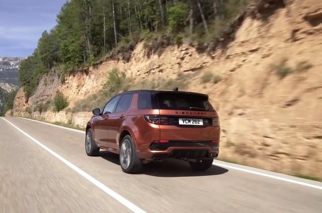 Land Rover Discovery Sport поведения на дороге