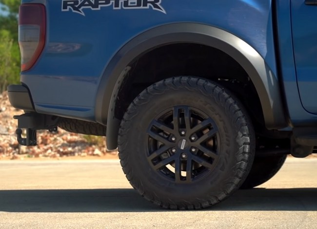 Ford Ranger Raptor шины и диски