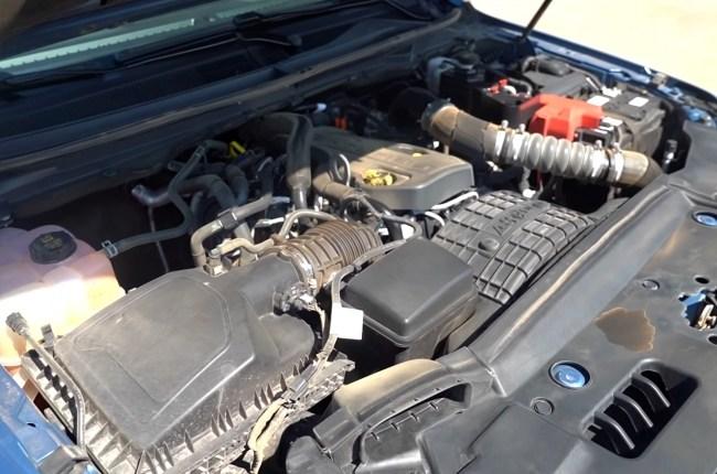 Ford Ranger Raptor двигатель