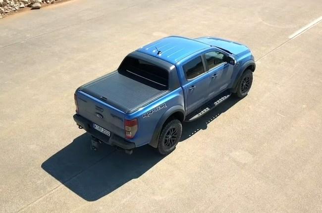 Ford Ranger Raptor вид сверху