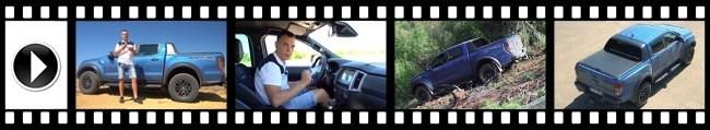 Ford Ranger Raptor – наверное самый «злой» пикап в классе. Ford Ranger Raptor