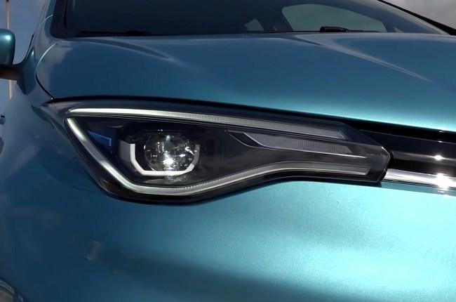 Renault ZOE оптика