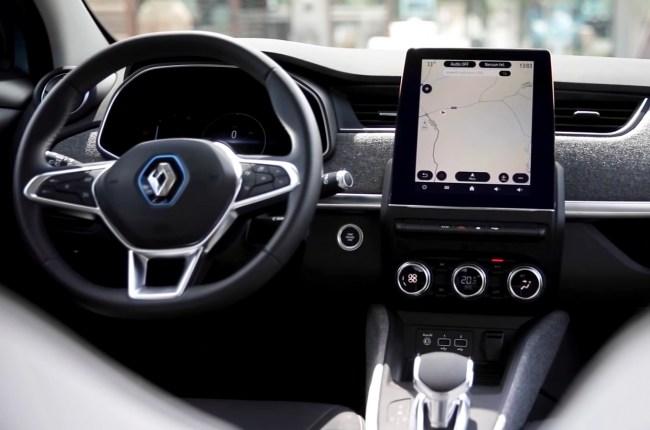 Renault ZOE салон