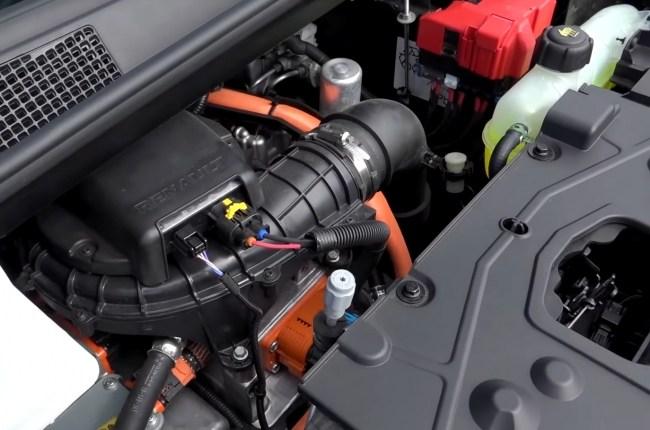 Renault ZOE мотор