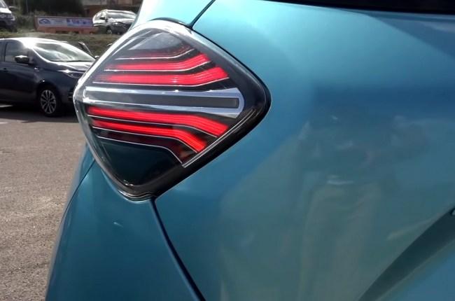 Renault ZOE задние фонари