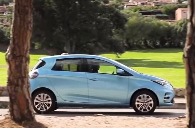 Renault ZOE 2020 модельного года