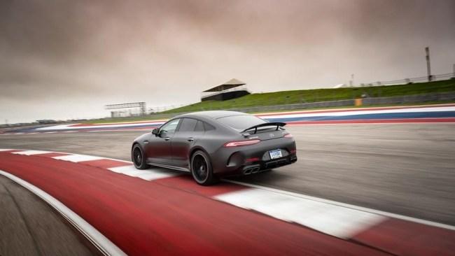 Адвокаты дьявола. Mercedes AMG GT 4-Door Coupe (X290)
