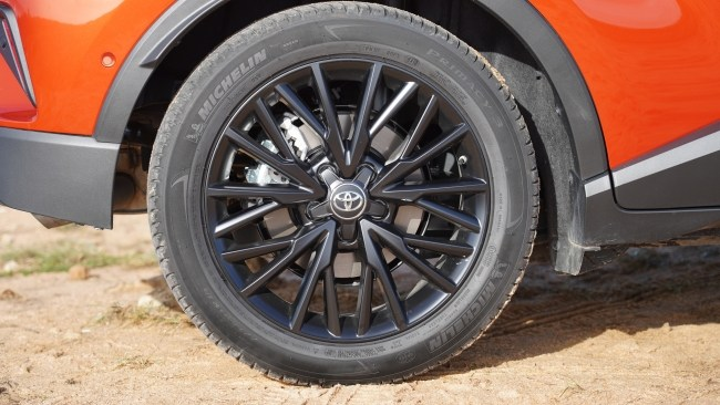 Toyota C-HR колеса