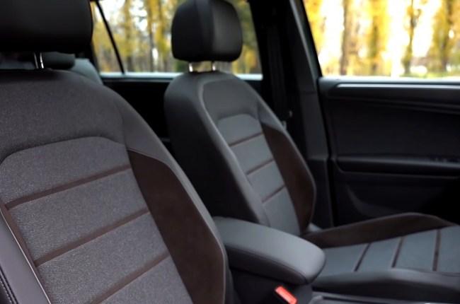 SEAT Tarraco передние сиденья