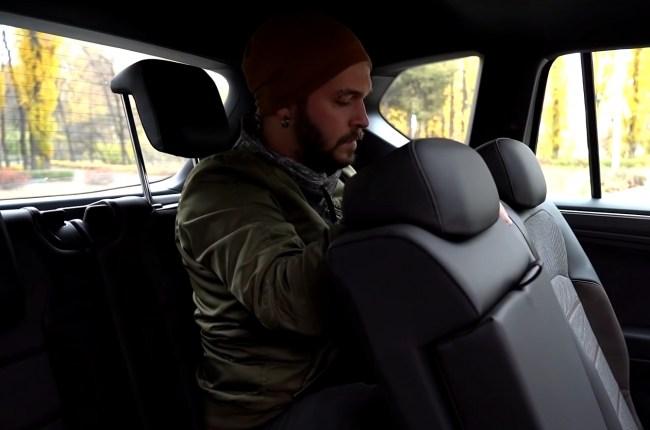 SEAT Tarraco третий ряд сидений