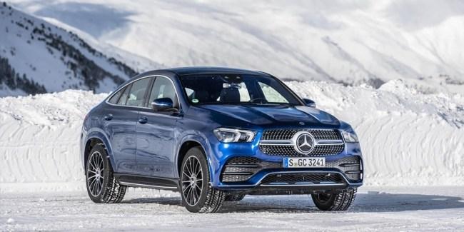 Горная порода. Mercedes GLE-Class Coupe (C167)