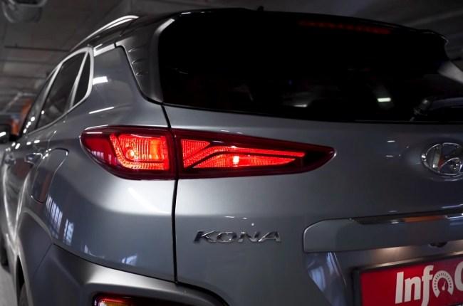 Hyundai Kona задние фонари