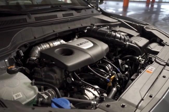 Hyundai Kona двигатель