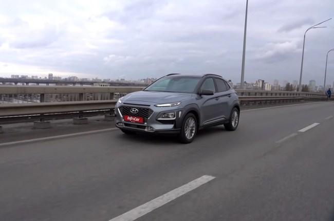 Hyundai Kona поведения в городе