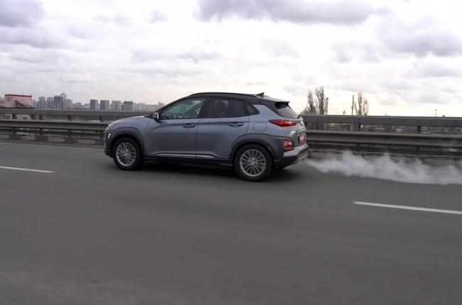Hyundai Kona ускорение