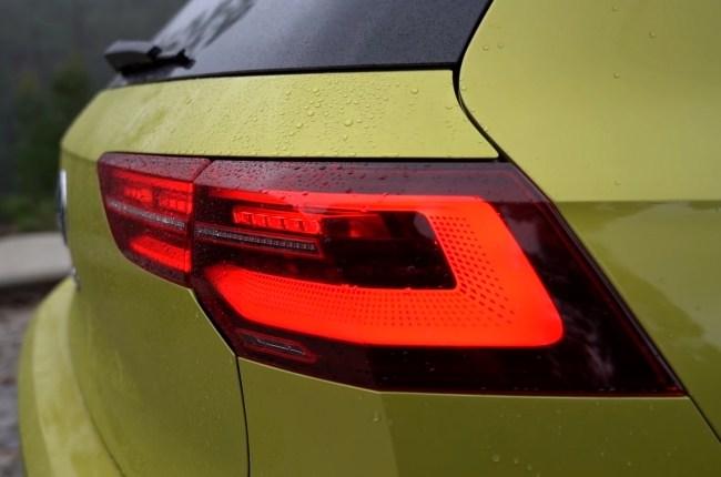 VW Golf 8 задние фонари
