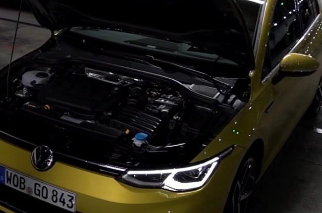 VW Golf 8 двигатель