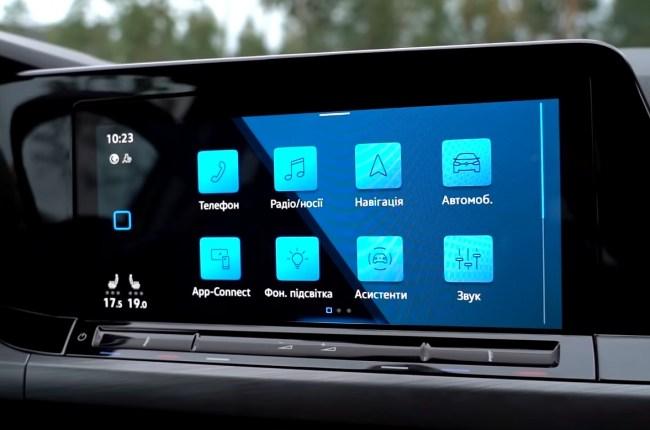 VW Golf 8 мультимедиа