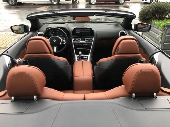 Восемь раз по 50. BMW M8 Cabrio