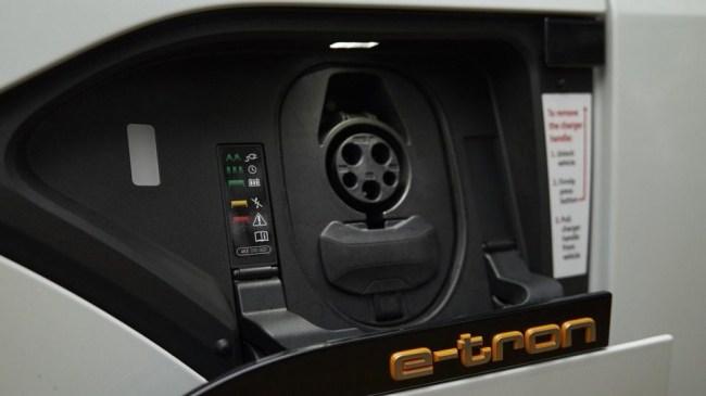 Электрический кокон. Audi e-tron