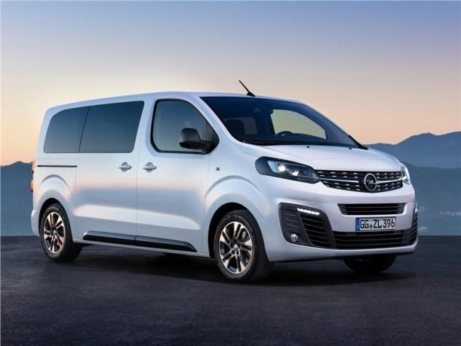 Родственные и другие связи. Opel Zafira Life