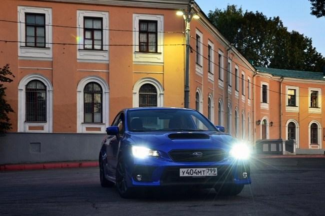 Тоскующий по «Эволюции». Subaru WRX