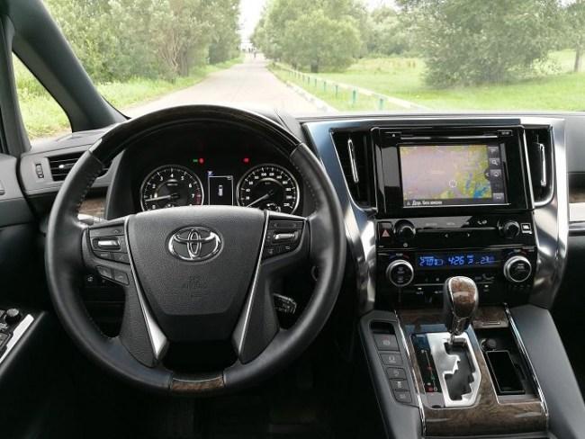 Ты просто космос. Toyota Alphard