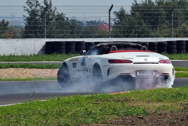 Будильник для дьявола. Mercedes AMG GT Roadster (R190)