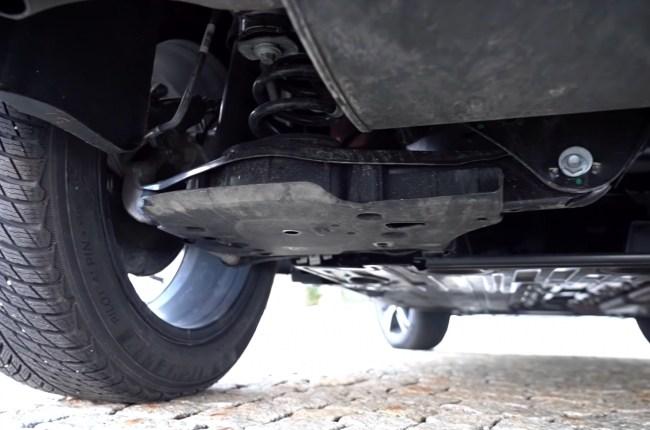 Volvo XC40 Plug-in Hybrid подвеска