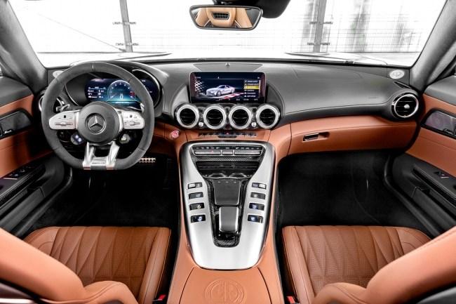 Трек-тул. Mercedes AMG GT (C190)